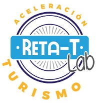 Logo del Programa de Aceleración RETA-T Lab Turismo